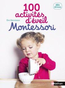 Livre 100 activités d'éveil Montessori