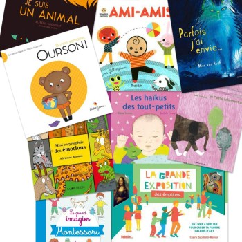 Livres sur les émotions pour les enfants de 1 à 4 ans