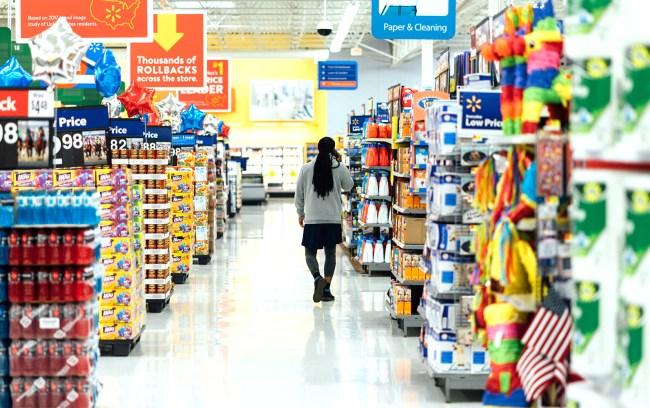 La crise au milieu du supermarché : un classique