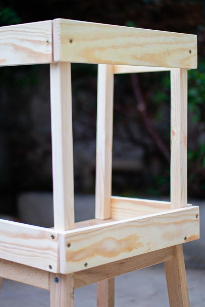 Construction d'une Tour d'observation Montessori