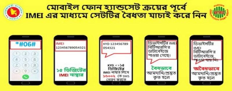 BTRC Mobile IMEI Check Process