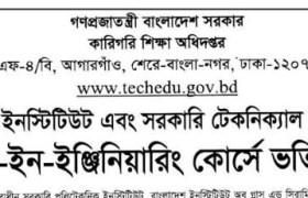 Govt Polytechnic Institute Admission Result 2019