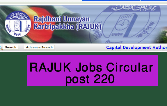 RAJUK Exam Result 2019