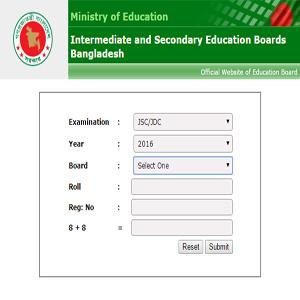 JSC Exam Result 2019
