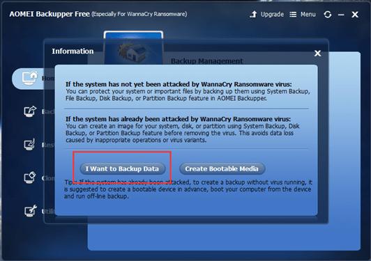 Wannacry Ransomware Recover