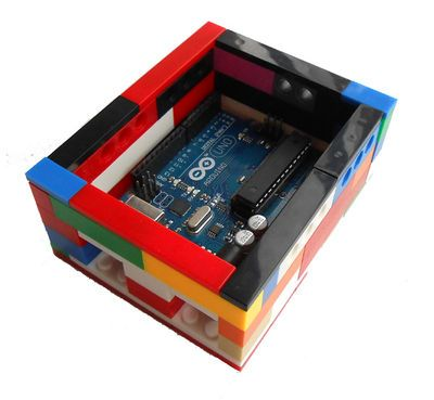 Case for Arduino Uno from LEGO