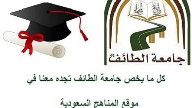 جامعة الطائف ت علن أسماء المقبولين والمقبولات نهائي ا على برامج الماجستير مدونة المناهج السعودية