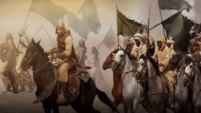انتصر المسلمون على الروم في المعركة البحرية