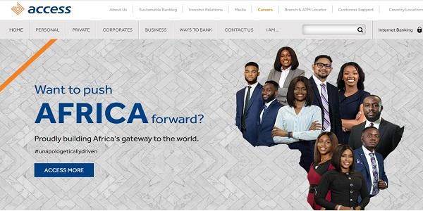 Access Bank Jobs Portal