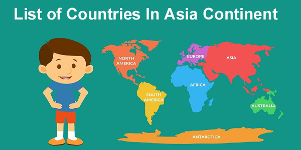 List of Countries In Asia Continent