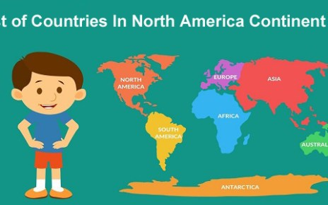 List of Countries In North America Continent:
