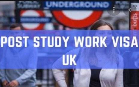 UK Study And Work Visa