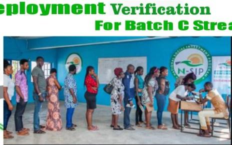 Npower Batch C Physical Verification Date