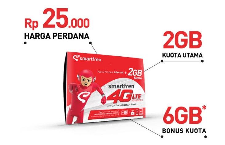 harga paket internet smartfren 4g