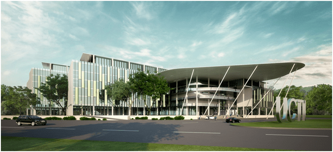 APU's new ultra-modern University Campus