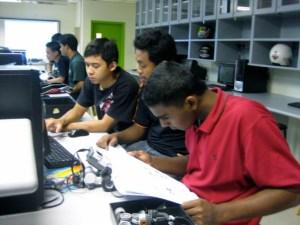 Engineering lab at KDU Penang