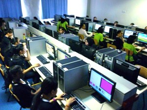 Computer lab at KDU Penang
