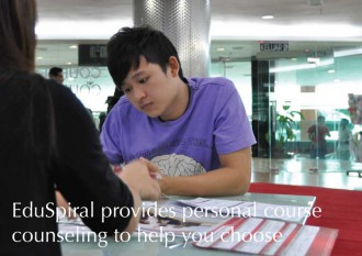 EduSpiral Consultant Services provide personal counseling to students and information on the universities so that they are able to make the right choice.