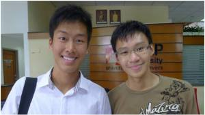 HELP University's Ang Chee Chyuan (right) scored 4 A* in Biology, Chemistry, Physics and Maths; he will study Engineering at Monash University Calvin Yeoh Kai Yuan (left) was offered admission to 4 top universities: Imperial College London, University College London, Oxford University and Stanford University. He has chosen Stanford, where he will study Economics on a Bank Negara scholarship. Calvin scored A* in Physics