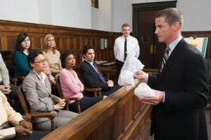 A lawyer should be able to present his facts clearly and speak well
