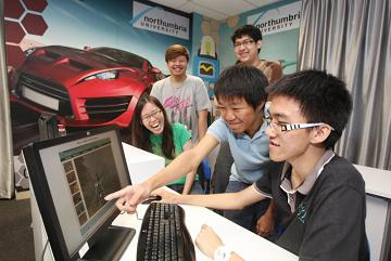 The new Games Design Lab and its accompanying Games Lounge, both costing some RM300,000 invested by KDU Penang University College