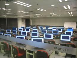 Computer Lab at Hong Kong PolyU