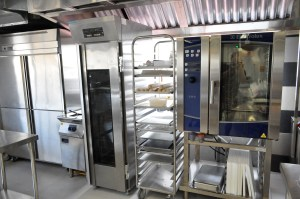 Pastry kitchen at HELP CAT