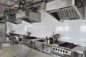 Excellent kitchen facilities at HELP College of Arts & Technology for her culinary arts students