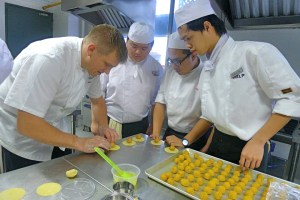 HELP CAT's culinary arts students receive personal attention from their experienced chefs