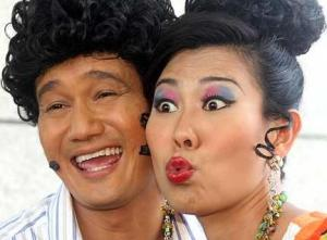 Irene Ang as Rosie in the famous Phua Chu Kang TV series