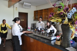 Nilai University's Hospitality students have access to excellent facilities on campus such as the restaurant, prep kitchens and mock suites.