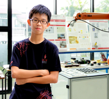 Jeshaiah Khor Zhen Syuen, 13-year old top A-Levels student from UCSI University