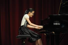 UCSI University's MEI XUAN PERFORMING AT THE FINAL ROUND OF THE ASIA PIANO COMPETITION, TAIWAN