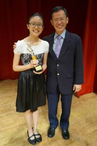 WITH PROF. DR. P'NG TEAN HWA, HEAD OF SCHOOL OF MUSIC, UCSI UNIVERSITY DURING THE SEMI-FINAL ROUND OF THE ASIA PIANO COMPETITION