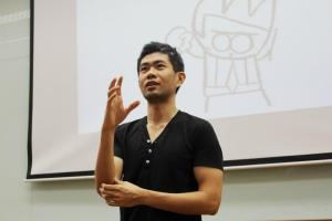 Cheeming Boey at KDU University College