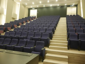 Auditorium at KDU University College's new campus at Utropolis Glenmarie, Shah Alam