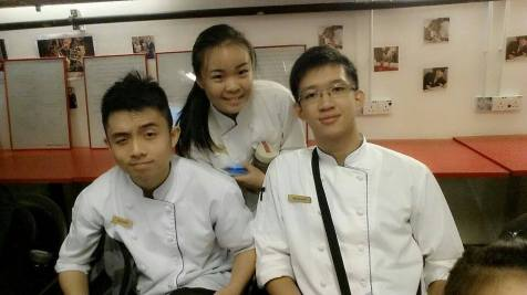 I met EduSpiral online and he provided in-depth information on the courses at UCSI Sarawak. Andy Lim (Left), Culinary Arts at UCSI Sarawak