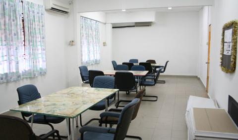 KDU Penang hostel study room