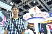 "I met EduSpiral at the Education Fair and he helped me to filter all the information from the universities and choose the best university that fit me."" Vincent Hoy, Scholarship student at Asia Pacific University"
