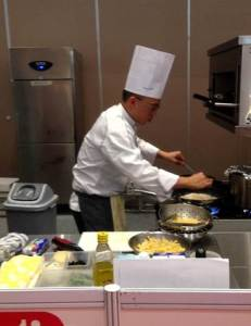 KDU Penang's award-winning chefs during the international competition