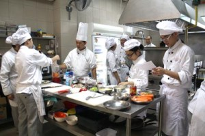 State-of-the-art kitchen facilities for UCSI University Hospitality students at the Kuching Campus