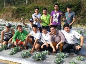 """Educational field trip for KDU College Penang's Professional Chef Training students enables them to learn the concept of food systems, """"from farm-to-table""""."""