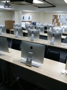 Mac Lab at UCSI University for Design students