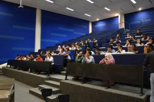 Lecture hall at Heriot-Watt University Malaysia