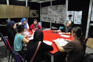 Architecture students at UCSI University receive personal attention from their lecturers