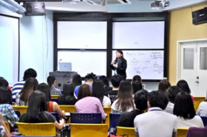 UCSI University students learn in a stimulating international environment taught by qualified & experienced lecturers