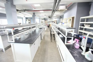 Microbiology lab at UCSI University for her Biotech & Food Science students