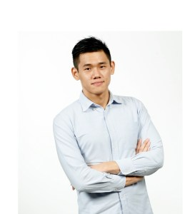 Daniel Chua Yong Ho, KBU International College Student, the winner of the Digital Age brief.