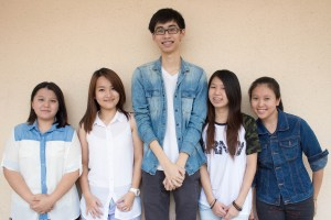 KBU International College Design School's winning team for the Social Entrepreneurship brief for the RSA Genovasi Malaysian Awards