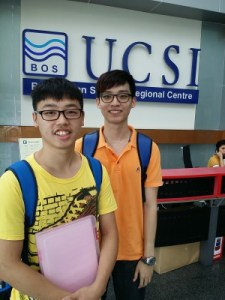 Choosing the course & university can change your life forever, so make this decision wisely. Pic - students on tour of UCSI University's Engineering & Architecture campus
